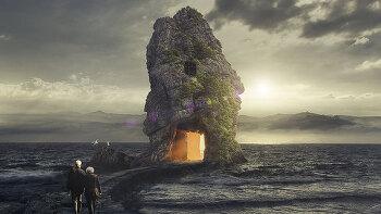 포토샵 합성 강좌 락 (Photoshop Manipulation Tutorial Rock)