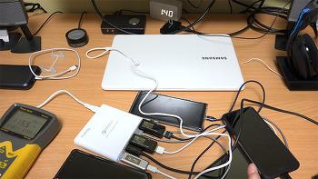 프리디 멀티 퀵 충전 스테이션 USB-C PD QC3.0 단자 4개 지원