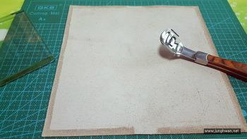 [가죽공예] 장지갑 만들기 No.2