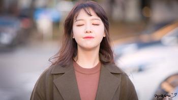 [2017.11.08] 온주완의 뮤직쇼 출퇴근 걸스데이 민아 직찍 by. 문스