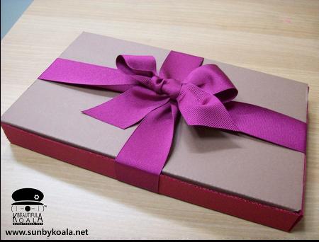선물포장 -파우치와 명함지갑