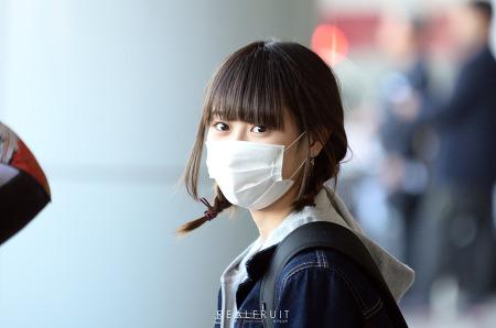 [15.10.10] NGT48 김해공항 입국 직찍 by 쌩과일