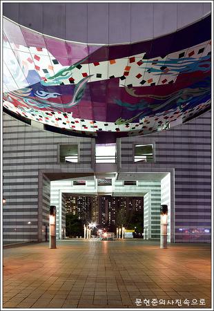 서울 송파 올림픽공원 야경