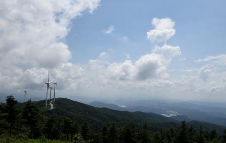 태기산 풍력발전단지