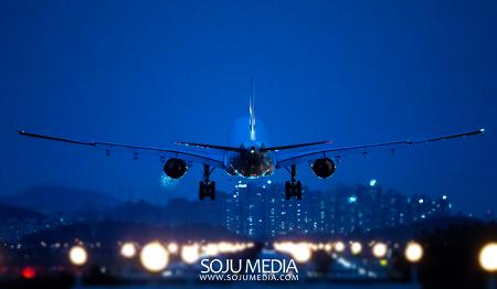 [항공] 연휴 막바지 김포공항의 비행기