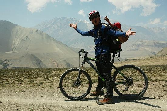 [안나푸르나 걷기3] 히말라야에서 자전거 타기!!