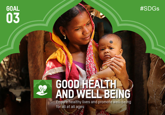 """제19호 - 지속가능발전목표(SDGs) 목표 3번 [ """"Good health and well-being. 모두의 건강과 행복을 위하여"""" ]"""