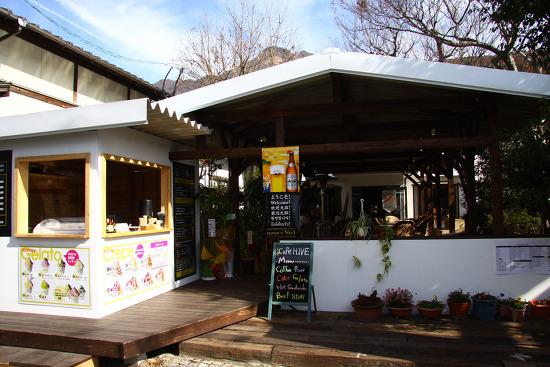 일본여행 유후인까페 히베(CAFE HIVE)에서 맛보는 젤라토 아이스크림