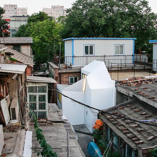 *베이징 노후주택리모델링 + 협소주택 [ PAO ] plugin house for historic beijing hutong
