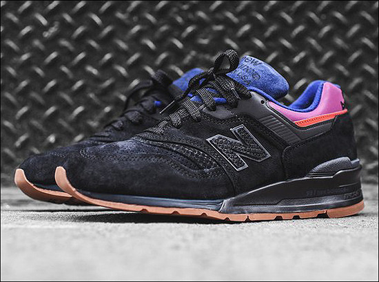"New Balance M997 ""Black/Magnet""_Made in USA - Fall 2017 