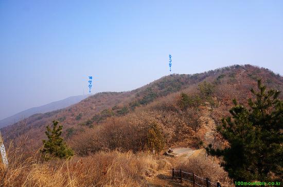 인천 계양산, 천마산 연계 산행