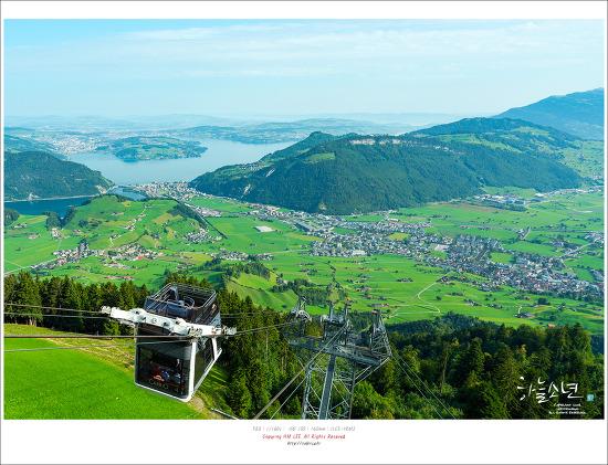 스위스 여행 4일차 - 세계 최초 2층케이블카가 있는 슈탄저호른(Stanserhorn)