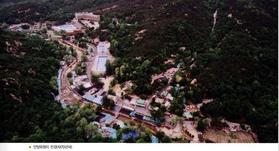 1970년대 안양유원지 계곡의 풀장들