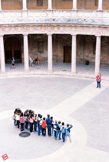 수학여행에 빠질 수 없는 단체사진
