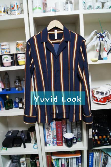 [YuvidLook 구매보고서] 핸즈인더포켓 스트라이프 오픈카라셔츠