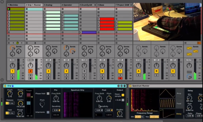 Ableton Live Packs Demo : Spectrum Effects, AutoBeat, Project SAM Orchestral Ensemble