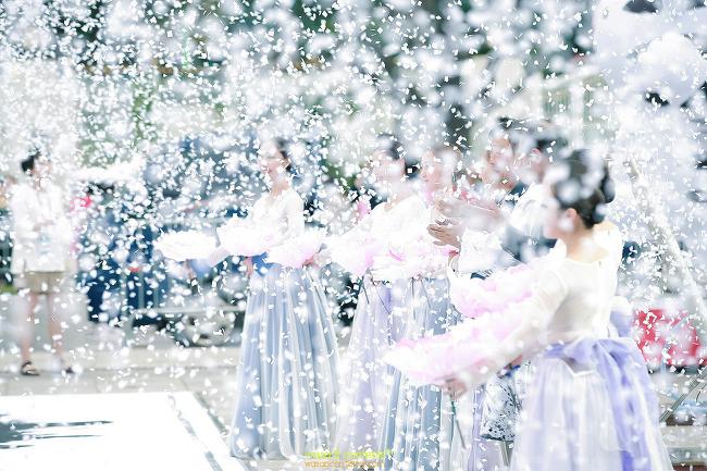 쪽진머리의 매력 한국무용 비슬 평창동계올림픽 도심속 봅슬레이 광화문광장