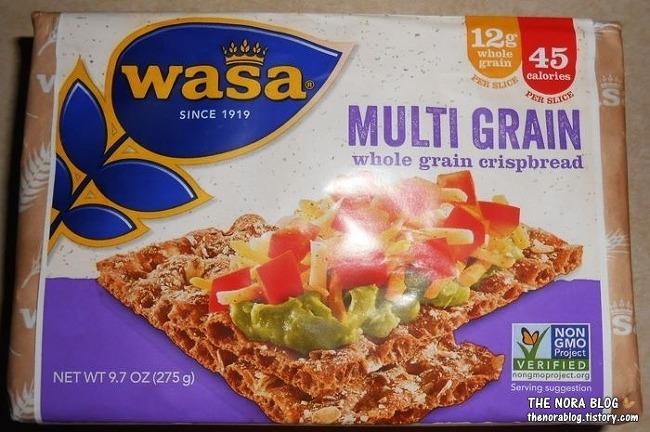 Wasa Crispbread - 북유럽 바삭바삭 호밀빵