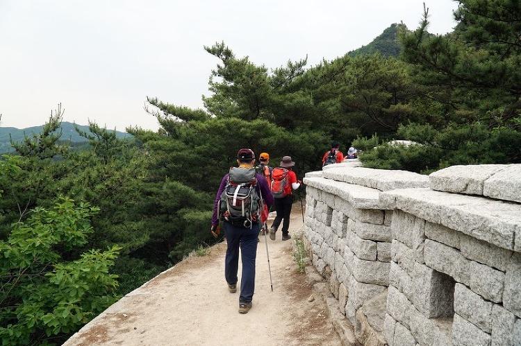 [토요산행] 북한산 의상능선 170624