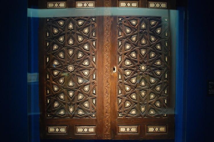 이슬람의 보물 - 건축, 문 & 가리개