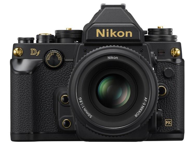 니콘 풀프레임 DSLR 카메라 DF 골드 에디션 외형과 가격