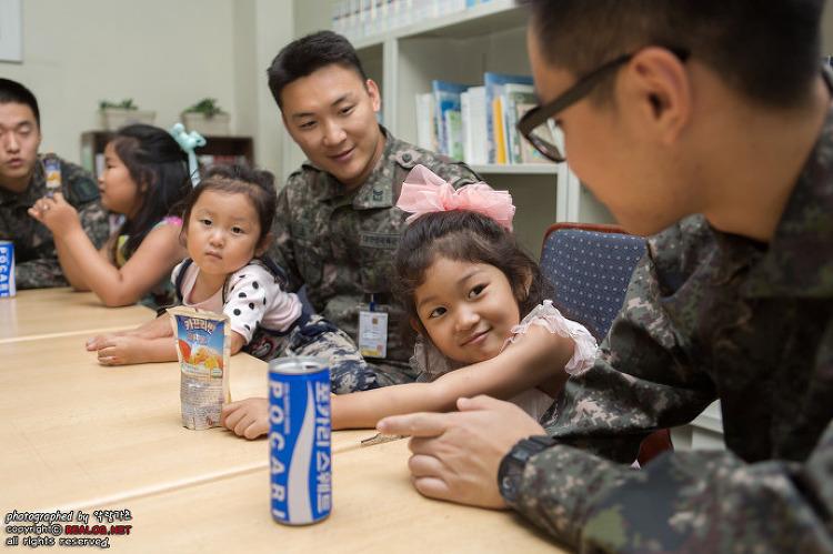 휴전선 최북단을 수호하는 육군 22사단에서 만난 행복한 딸부잣집!