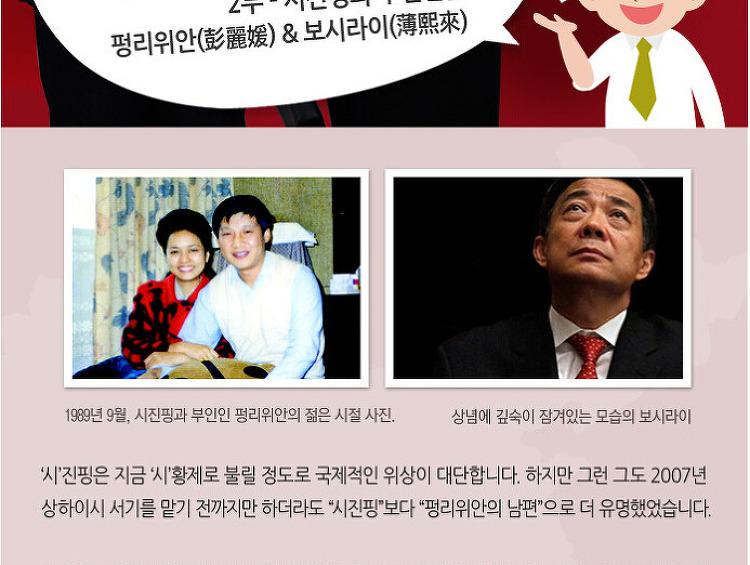 [대우인터내셔널 시진핑 특집 제2부] 시진핑과 주변인물 (펑리위안&보시라이) 편