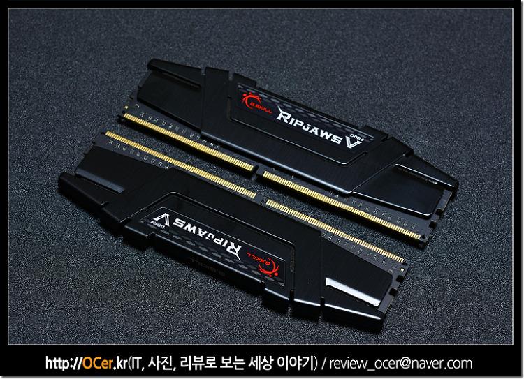 스카이레이크 오버클럭 위한 DDR4 고성능 메모리 지스킬 RIPJAWS V 3600