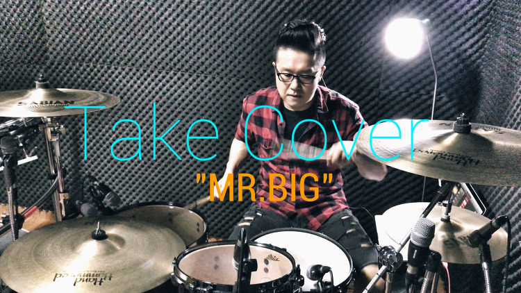 "MR.BIG(미스터빅) - ""Take Cover"" Drum Rem.."