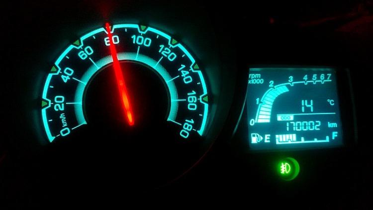 스파크 주행거리 170,000km 돌파!