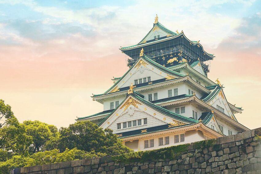 오사카 자유여행! 도톤보리 오사카성 후기
