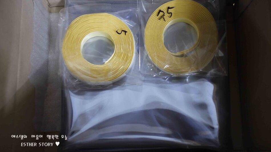 [월동준비] 접어서 보관한 베란다 방풍 비닐 구김살(주름) 펴는 법
