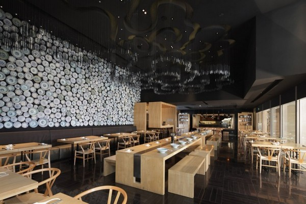 for Modern house sushi 9 deler sett