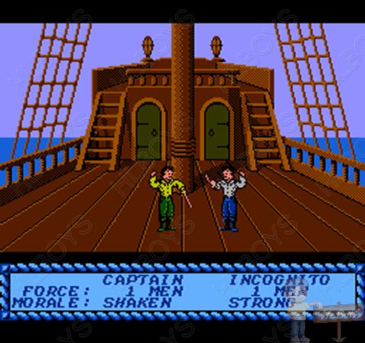 HLBOYS의 고전게임 :: [NES] 해적!
