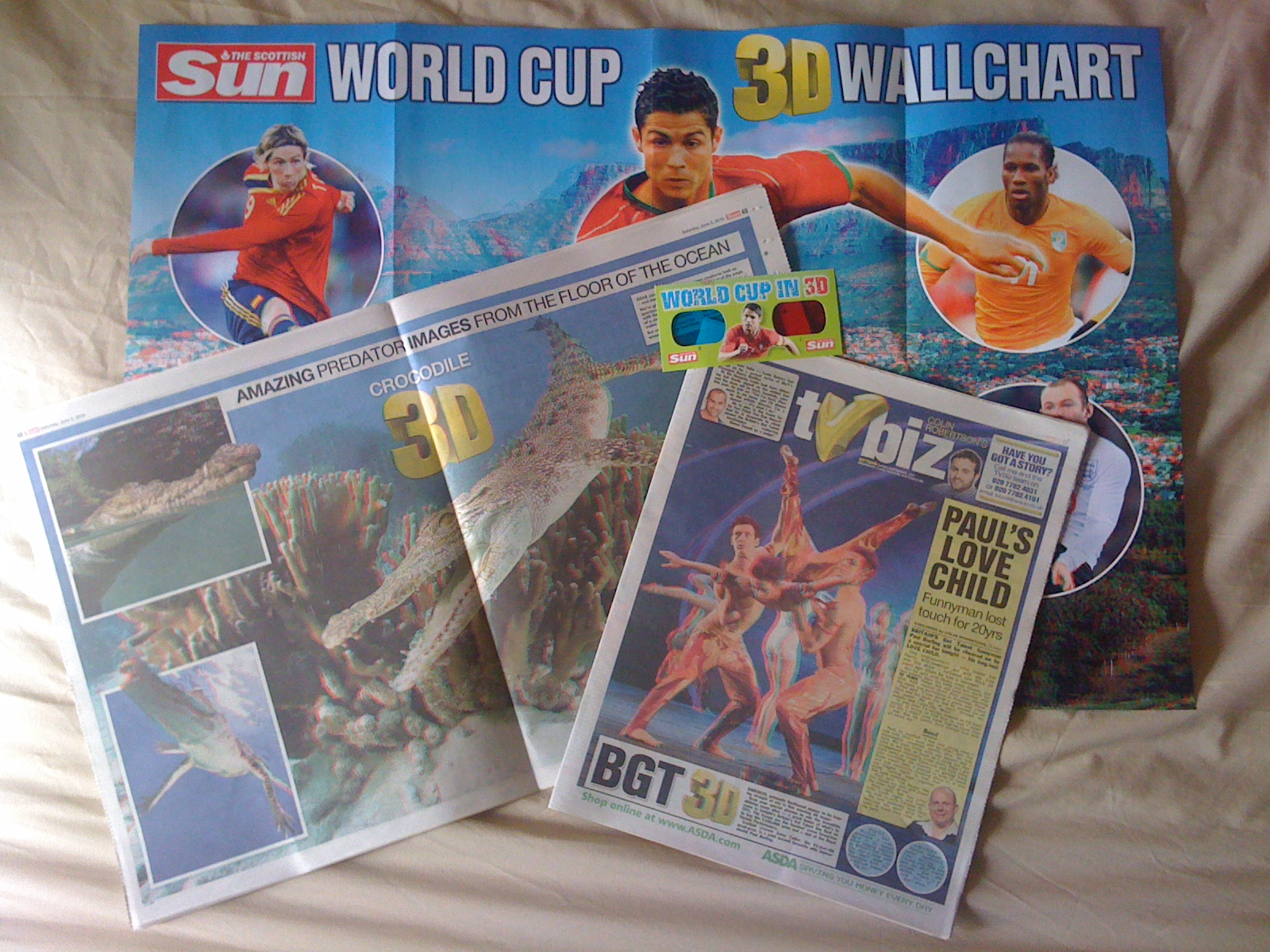 3D Contents in 3D Edition of <The Sun>