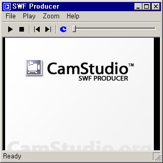 SWF Producer 실행 화면