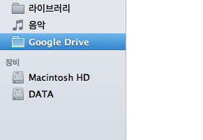 Google Drive for Mac Folder