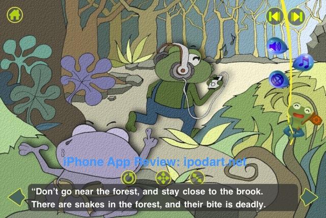아이폰 아이패드 어린이 동화 The Green Frog - StoryBean 스토리빈 청개구리 이야기