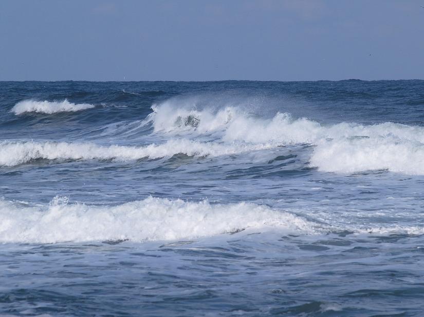 겨울바다, 경포대