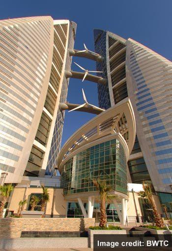 세상을 보는 눈 Bahrain World Trade Center 바레인 세계 무역 센터