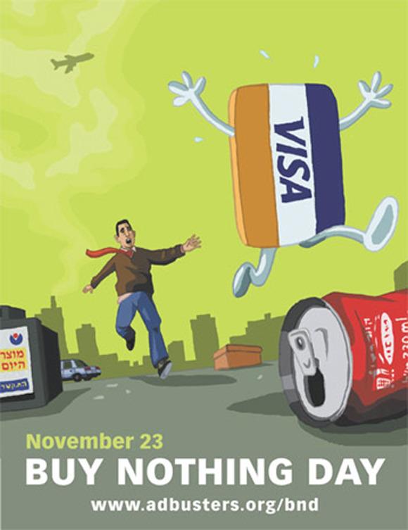 Argumentative essay on buy nothing day