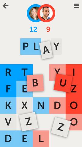 Letterpress 아이폰 단어 맞추기 2012 베스트 게임