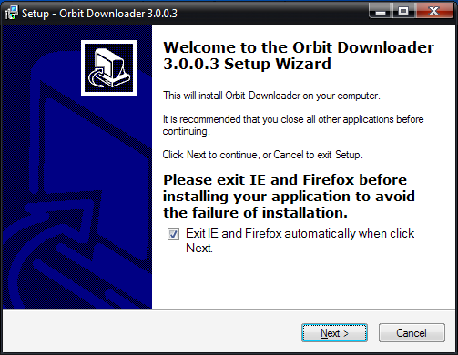 Orbit Flash Downloader 플래시파일, 동영상파일 다운로드 프로그램 설치하는방법