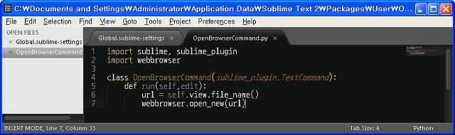 sublime text how to change key bindings