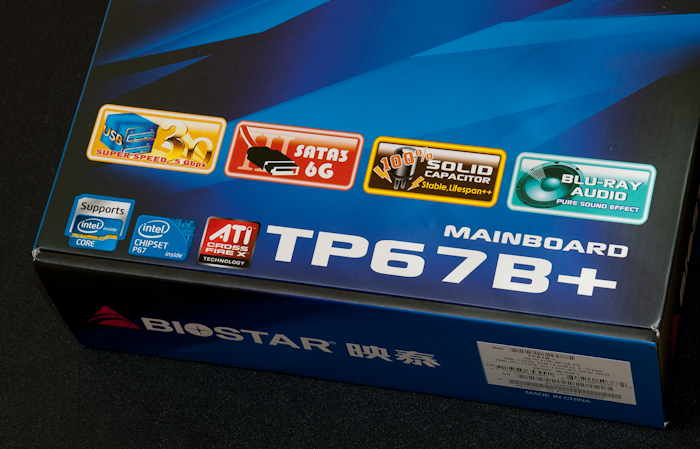 인텔 샌디브릿지 지원 BIOSTAR TP67B+ 마더보드 개봉기