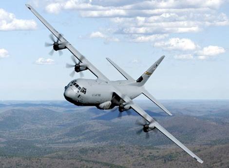 C-130J 슈퍼 허큘리스 화물 수송기