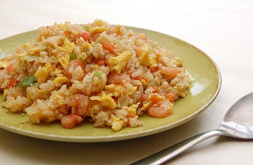 Fried rice with shrimps - South Dakota Board of Regents