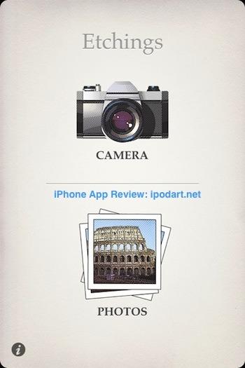 Etchings 아이폰 사진 동판화 필터 효과