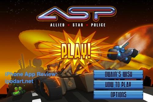 아이폰 아이패드 슈팅 게임 Allied Star Police