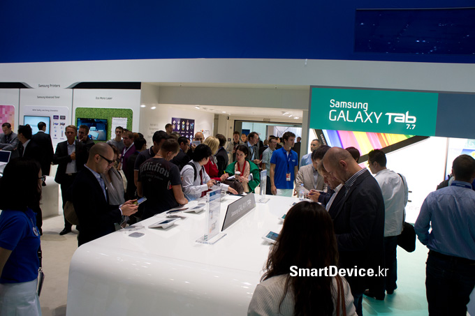 갤럭시탭 7.7, IFA 2011, 인터뷰, 갤럭시탭, LTE, 갤럭시탭 10.1
